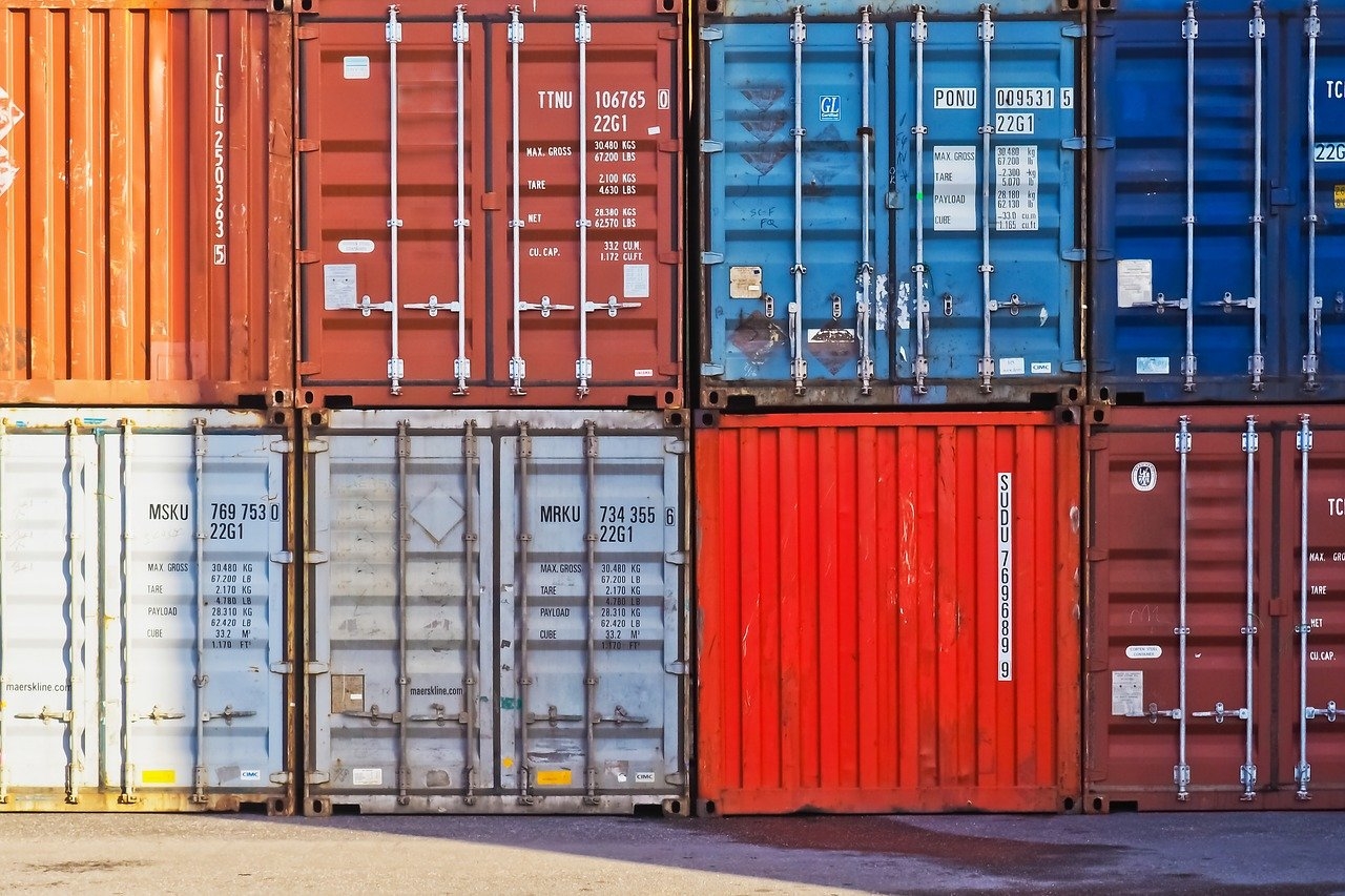 container, container port