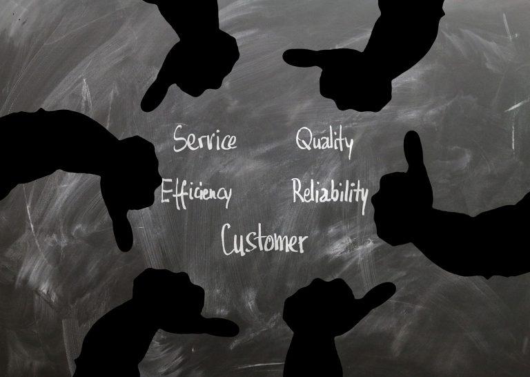 customer, like, thumb