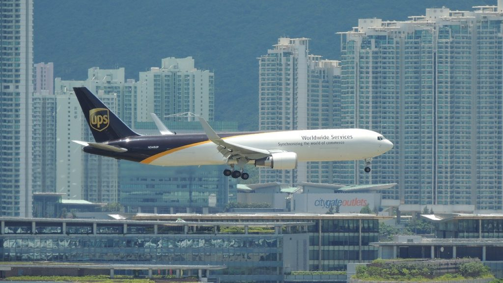 hongkong, airplane, travel