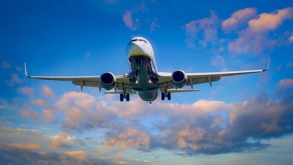 flying, aircraft, landing